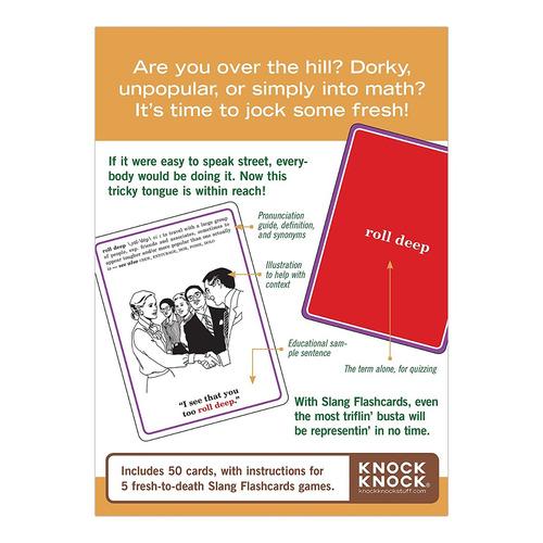 knock knock argot flashcards