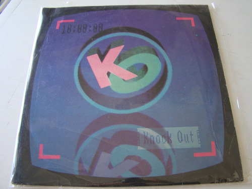 knock out mix dj 1990 vinilo nacional lp impecble