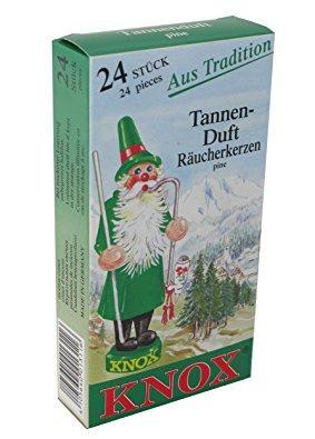 knox perfumadas de incienso conos, paquete de 24, made in