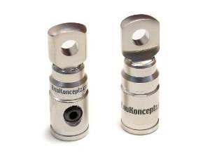 knukonceptz 0 medidor de tornillo anillo terminal par