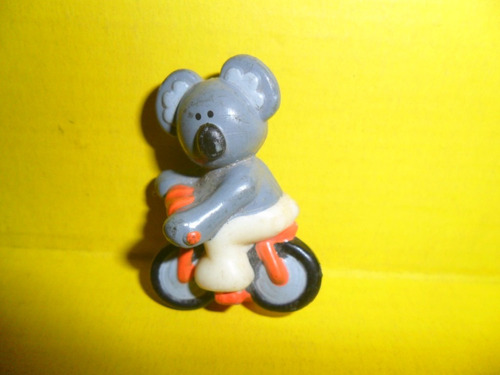 koala en bicicleta osito osos juguete muñeco miniatura