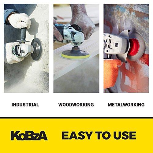 KoBzA 60 Pieces 5 Inch 8 Holes Sanding Discs Hook and Loop Sandpaper Backing 10 of 40//60//80//120//180//240 Grit Optimal Set Sandpaper Assortment for Random Orbital Sander Pads