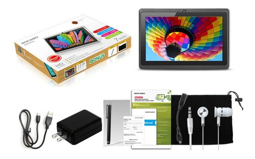 kocaso 7  8gb quad-core tablet pc 1,3 ghz android 4.4 doble