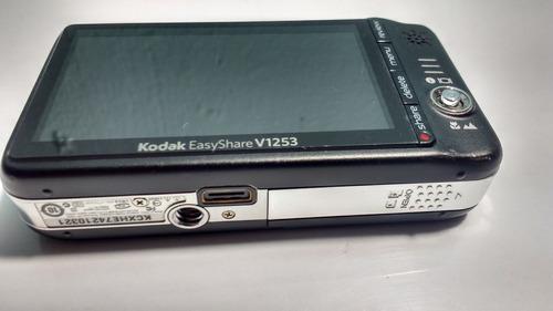 kodak easyshare v1253 12.1mp digital camera - black detalle*