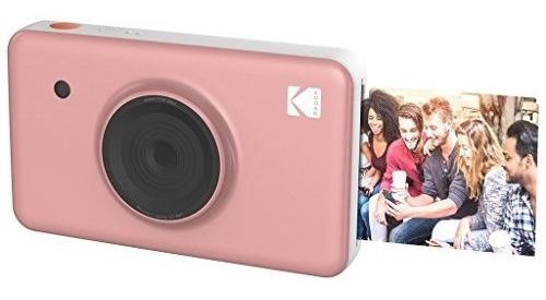 kodak mini shot cámara digital inalámbrica instantánea pink