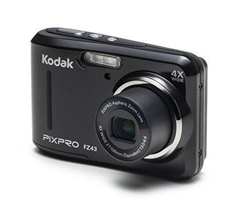 kodak pixpro friendly zoom fz43 cámara digital de 16 mp con