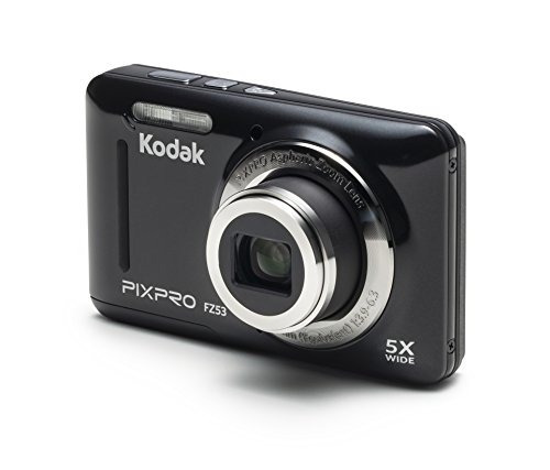 kodak pixpro friendly zoom fz53 cámara digital de 16 mp con