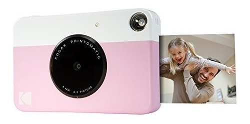 kodak printomatic camara de impresion digital en color rosa