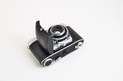 kodak retina ii c con óptica 50 mm f 2,8 + accesorios