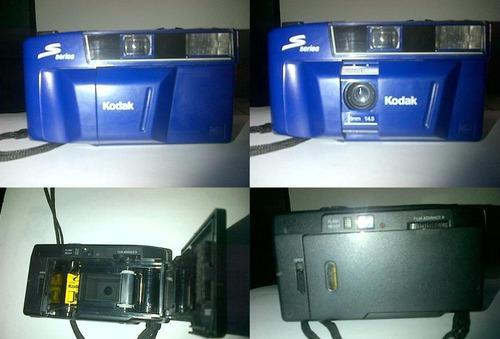 kodak s100 ef cámara fotografica 35 .mm, flash electronico