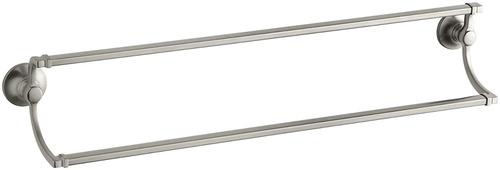 kohler k -11413-bn bancroft 24 pulgadas doble toalla bar , v