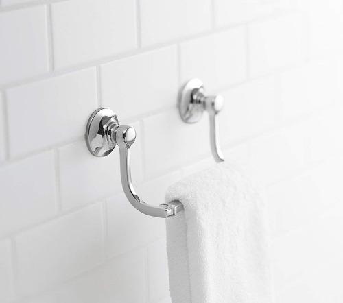 kohler k -11416-bn bancroft mano toalla titular , vibrante c