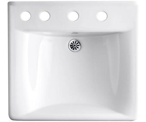 kohler k-2053-l-7 soho lavabo de baño de 20  x 18  montado