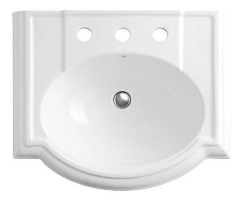 kohler k228780 devonshire lavabo del fregadero del cuarto de