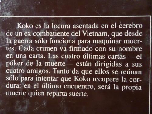 koko, peter straub,1988,imp españa