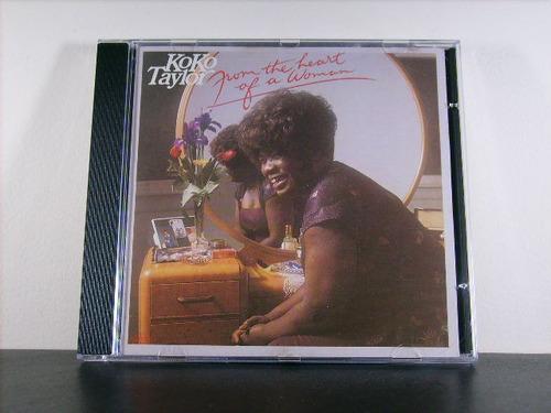 koko taylor from the heart of a woman cd orig imp av8