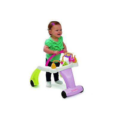kolcraft baby sit & step 2-en-1 activity centre y walker, ...