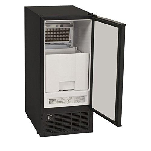 koldfront incorporado claro máquina de hacer hielo - negro