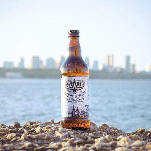 kölsch caja x 12 cerveza artesanal antares bot 500ml