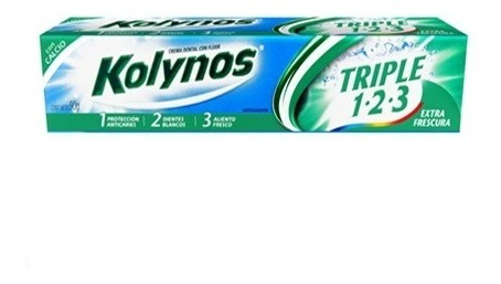 kolynos triple frescura 90 gr
