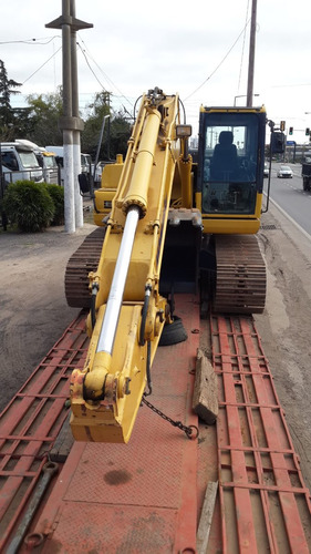 komatsu excavadora retro pc 200 - 8 con orugas