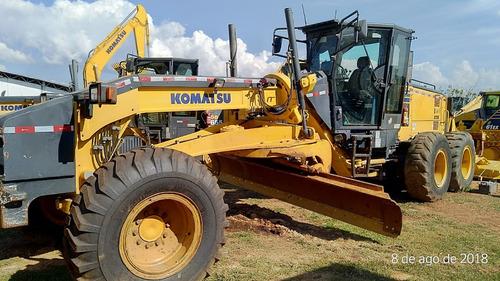 komatsu gd655 ano 2014  5.900hs   www.rodorental,com.br