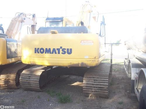 komatsu pc200 año 2010 - entrega y cuotas fijas en $