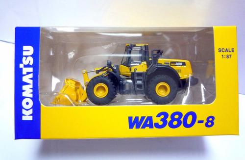 komatsu wa380-8 1:87 cargador frontal - edición limitada