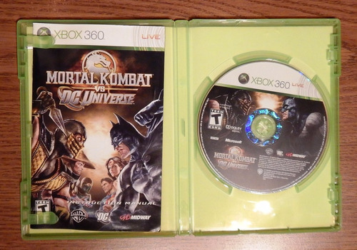 kombat universe videojuego xbox 360