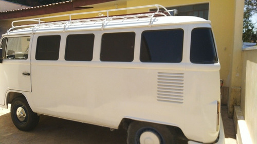 kombi 1995 gasolina - bagageiro com toldo - linda