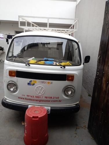 kombi 96 com kit gas gnv e bagageiro gigante