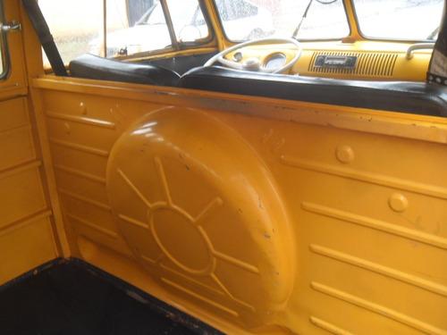 kombi antiga corujinha com direção hidraulica dock ok linda
