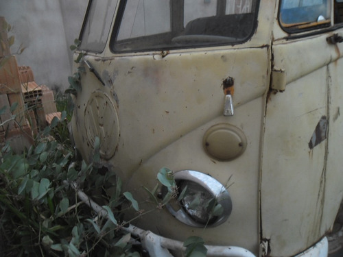 kombi antiga p/ restaurar com motor- usar partes peças