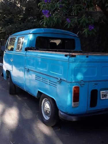 kombi cabine dupla - diesel - wolkswagem