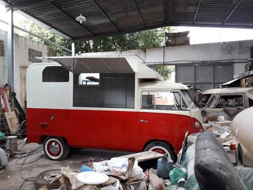kombi corujinha transformada p/ motor home food truck projet