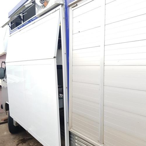kombi food truck diesel 1.6 motor novo