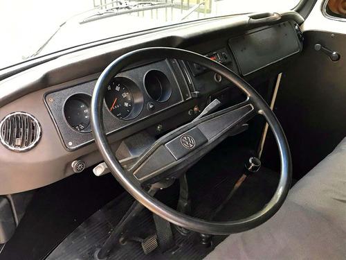 kombi furgão restaurada, motor, suspensão, pintura, tudo nov