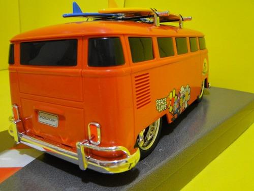 kombi  laranja  prancha surf   comp=30cm larg=11cm alt.12cm