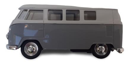 kombi minivan volkswagen replica a escala 1:38