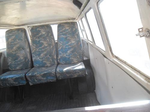kombi vw van corujinha 1968 p/ restaurar geral docks ok