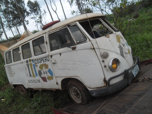 kombi vw van corujinha 1973  com docks boa p/ exporação