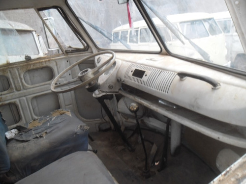 kombi vw van corujinha 1975 funcionando p/ restaurar barato