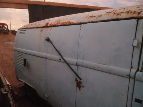 kombi vw van corujinha 1975 furgão p/ restaurar raro modelo
