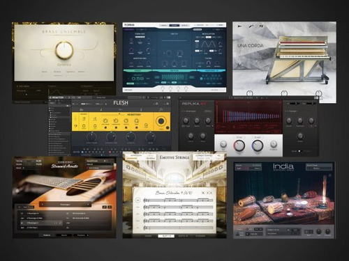 komplete 11 ultimate librerías - native instruments + regalo
