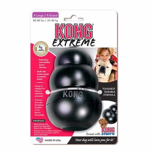 kong extreme x-large juguete para perro | negro extra-grande