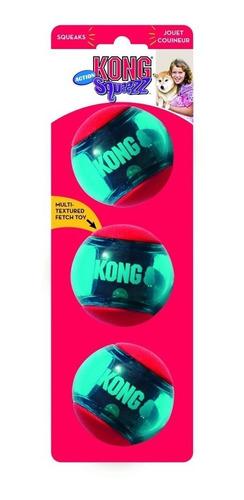 kong squeezz action ball small pequeno brinquedo bola cães