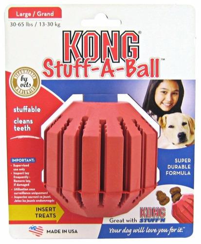 kong stuff a ball grande juguete de entretenimiento
