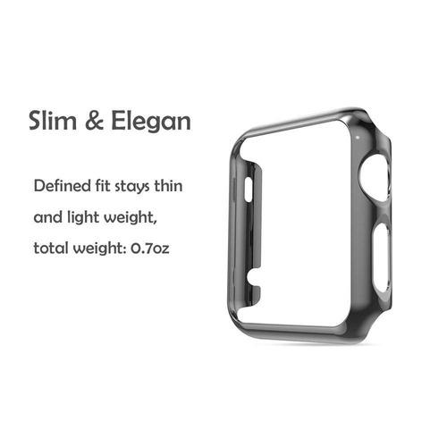 konky manzana reloj 1 caso , electrochapa metal chapado orde