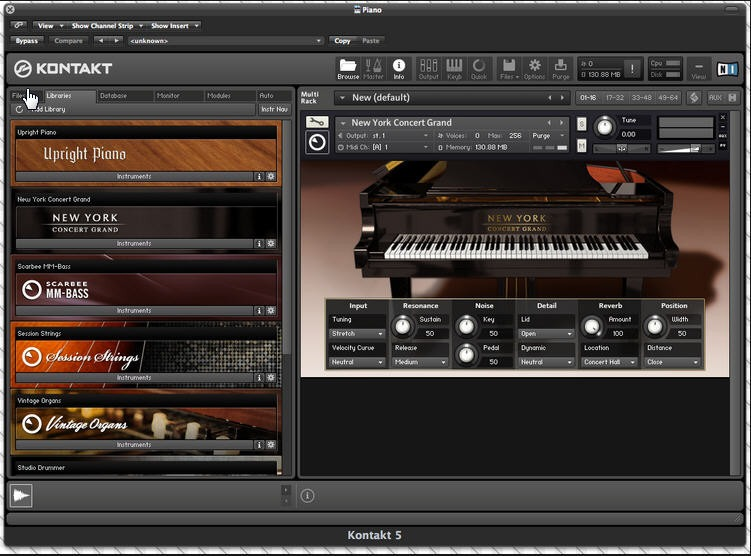 kontakt 5 factory library sound+40gb de samples (win&mac)