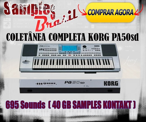 kontakt samples korg pa50 completo